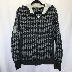 Adidas Hooded Herringbone Jacket